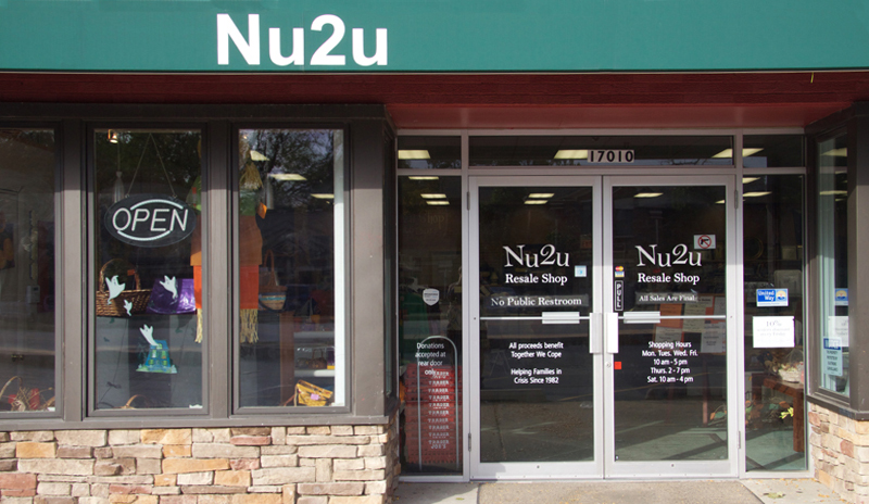 Nu2u is the resale shop of Together We Cope