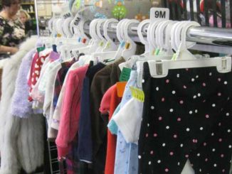 Kids clothes and baby clothes are always 50% off at Nu2u Resale Shop.