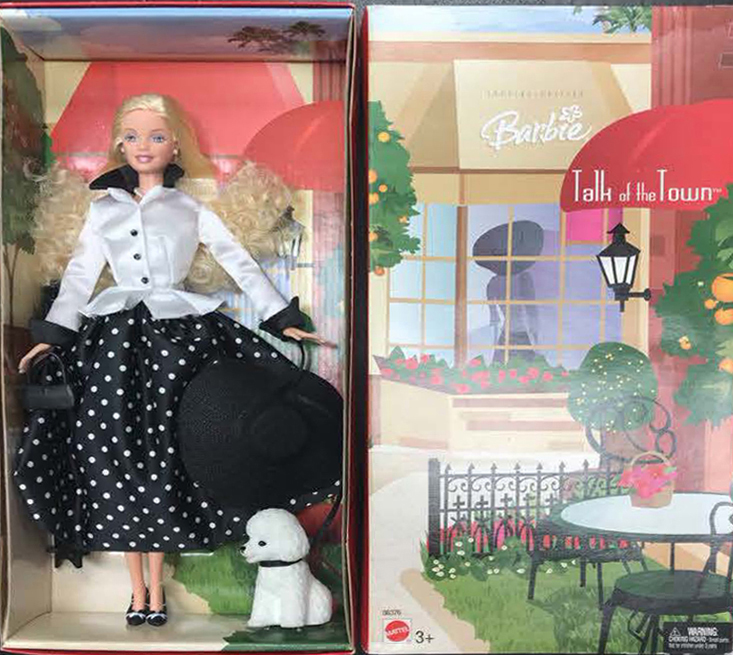 See our large collection of Special Edition Barbies on our Facebook page.