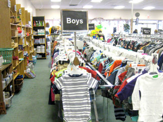 Baby clothes are always low-priced at Nu2u Resale Shop in downtown Tinley Park.