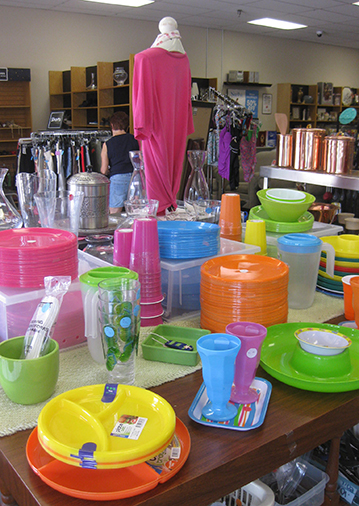 In addition to thrift store clothing Nu2u Resale in Tinley offers brand new housewares.