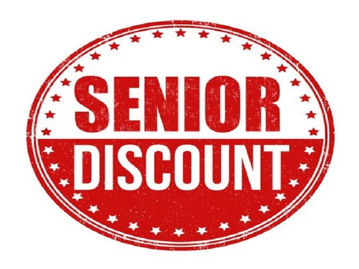 Fridays are Seniors Discount days at Nu2u