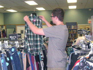 Shopping for men's clothes at Nu2u benefits local familiesShopping for men's clothes at Nu2u benefits local families