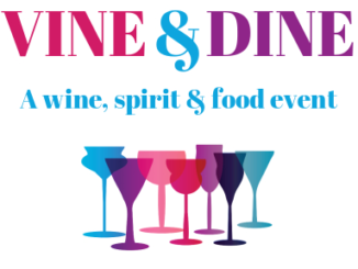 Poster for Vine & Dine with Together We Cope