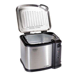Butterball Electric Turkey Fryer   $25 after applying the Nu2u everyday 50% discount.