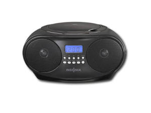 Insignia Boom Box - AM/FM CD Player   $9 after applying the Nu2u everyday 50% discount.