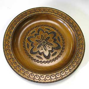 floral-wooden-plate-0697