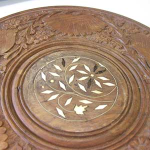floral-wooden-plate-0700