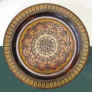 floral-wooden-plate-0702