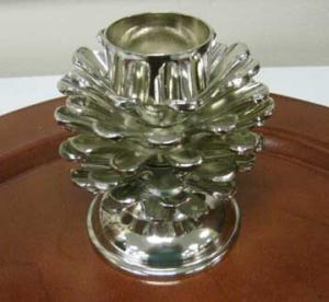 Woodland Shimmer : Tea Light Candle Holder : Yankee Candle